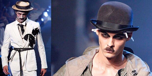 Charlie Chaplin als Fashion-Trendsetter