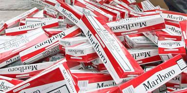 45.000 Zigaretten in Drasenhofen sichergestellt