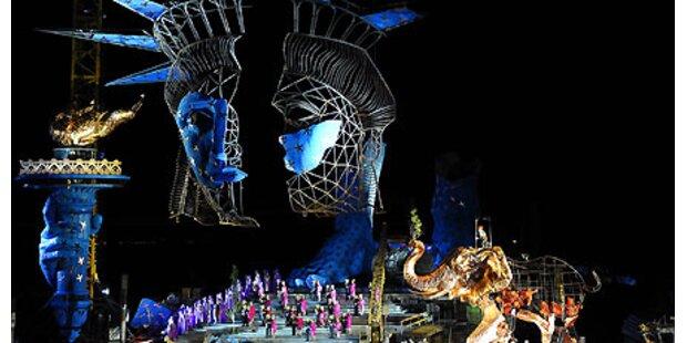 Festspiele: 259.000 Zuseher in Bregenz