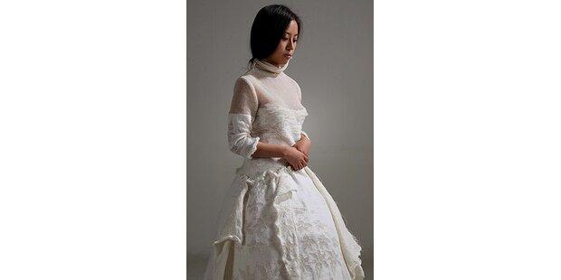 Diese Braut trägt Papier