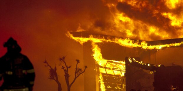 US-Feuerwehr ließ Haus niederbrennen