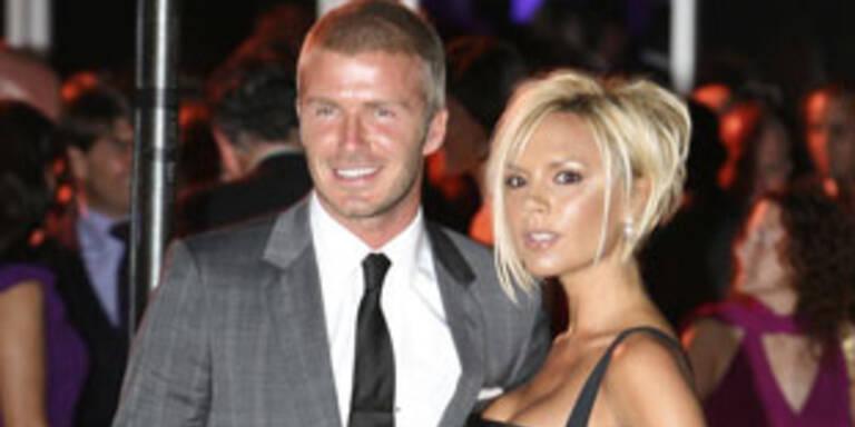 Beckham kommt ohne seine Victoria nach Wien