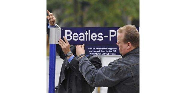 Hamburger haben endlich ihren Beatles-Platz