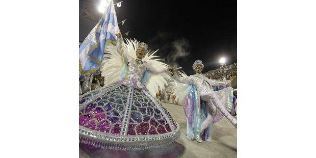 So heiß ist der Karneval in Rio
