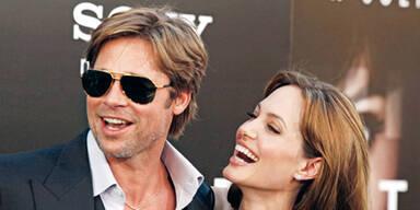 Jolie-Pitt: So sexy und soo verliebt
