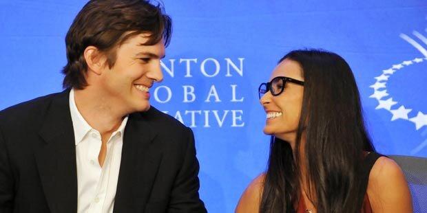 Demi & Ashton: Kann ein Baby Ehe retten?