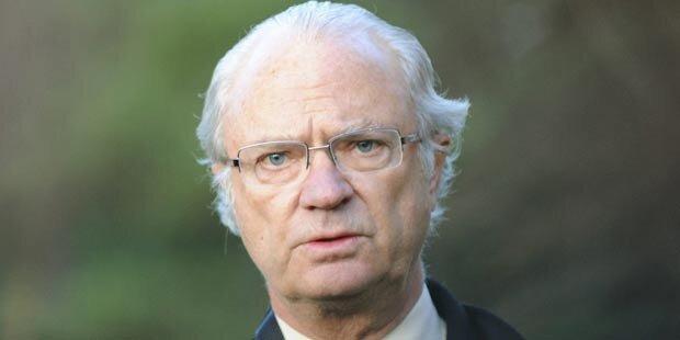 Schwedens König lacht über Sex-Gerüchte