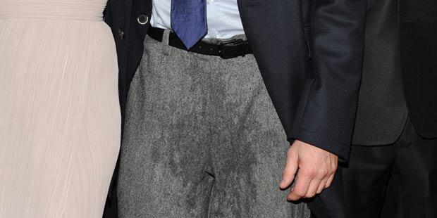 Wem gehört denn diese nasse Hose?