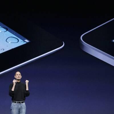 Steve Jobs präsentiert iPad 2
