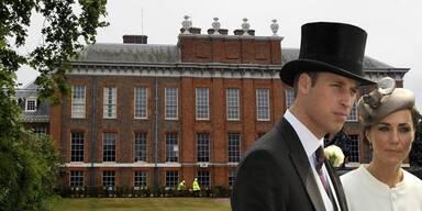 Prinz William und Kate ziehen in den Kensington Palast