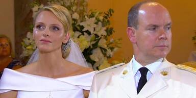Fürstin Charlene von Monaco und Fürst Albert II. von Monaco