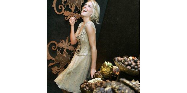 Ein Zimmer ganz aus Schokolade
