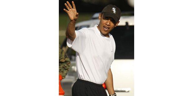 Barack Obama hat Löcher in den Hosen