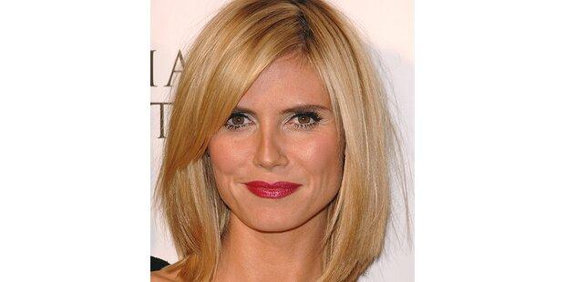 Heidi Klum trug zwei Frisuren an einem Abend