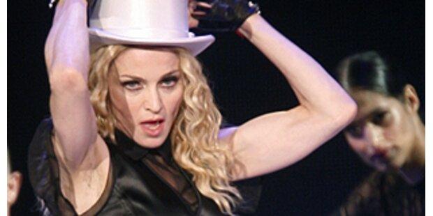 Madonna live in Österreich