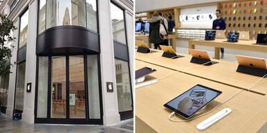 Jetzt hat Wien einen Apple Store
