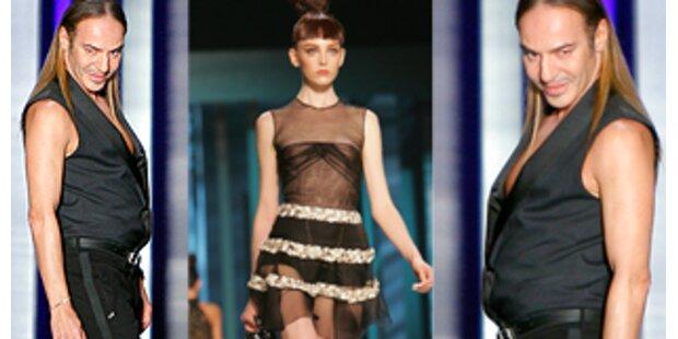 Exzentrische Mode für junge Erbinnen