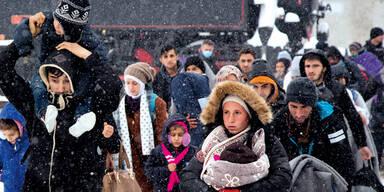 Flüchtlinge kosten uns 600 Millionen