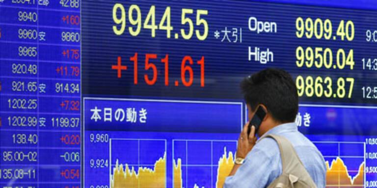 Börse Tokio schließt mit Abschlägen