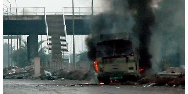 Anschlag auf Bus in Bagdad
