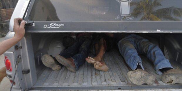 Acapulco: 15 enthauptete Leichen entdeckt