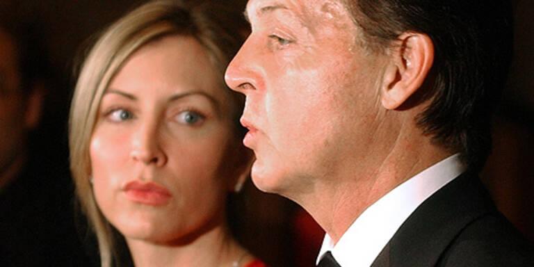 Heather Mills und Ex-Mann Paul McCartney. (c) AP