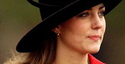 Strafzettel für Kate Middleton