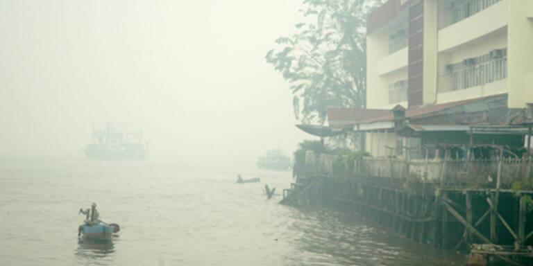 In Singapur wurde die Luft knapp