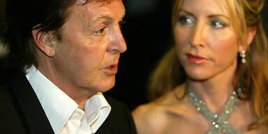 Paul McCartney und Heather Mills, liefern sich einen unerbittlichen Rosenkrieg.