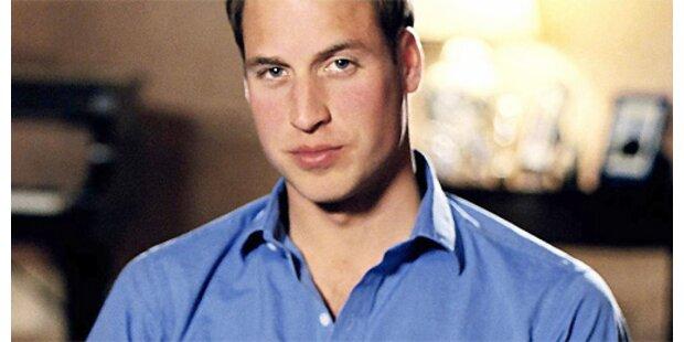 William arbeitet an Diana-Buch