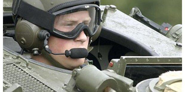 Prinz Harry bereitet sich auf Irak-Einsatz vor