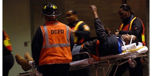 20 Verletzte bei U-Bahn-Unglück