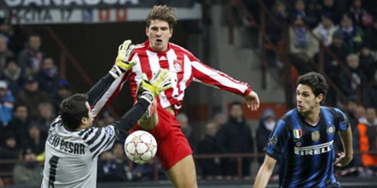 1:0 - Bayern gewinnen in Mailand