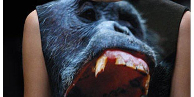 Brüllende Gorillas für Fashion-Victims