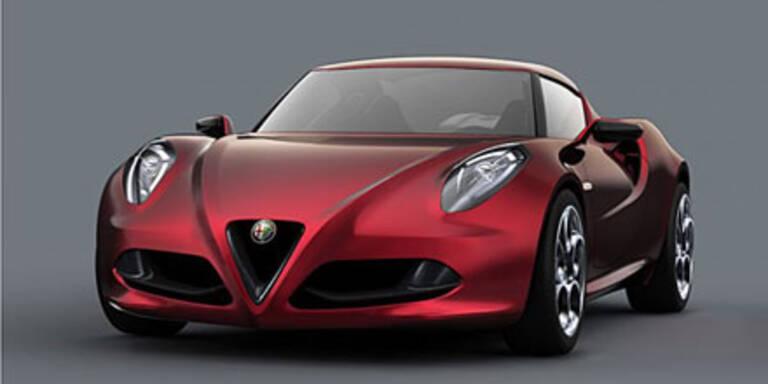 Alfa Romeo Concept 4C in Genf 2011
