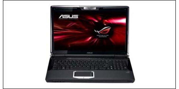 Asus G51J mit 3D-Technik und Blu-ray