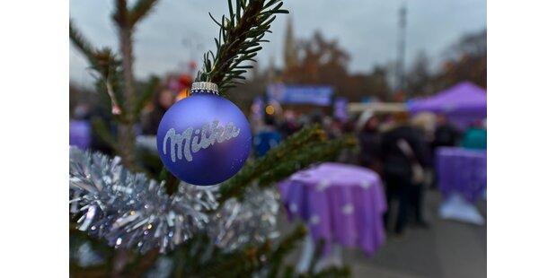 In der Milka Weihnachtswelt werden zarte Wünsche wahr