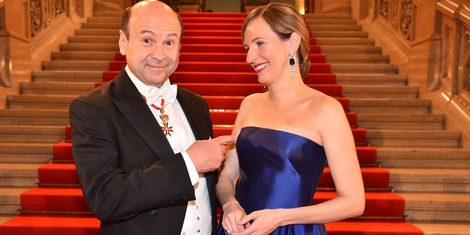 Dominique Mayer und Maria Großbauer