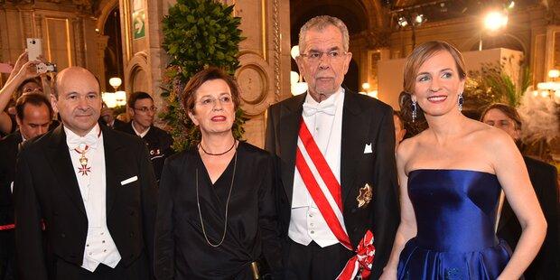 Trotz Oberhauser-Tod: Van der Bellen am Opernball