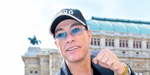 Van Damme: Wilde Partys in Wien