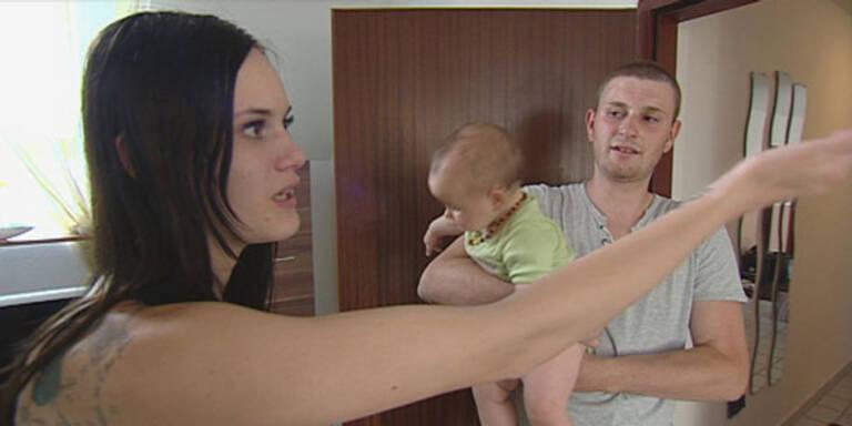 Trennung: Denise setzt Kindsvater vor die Tür