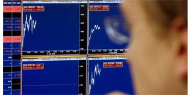 Bank-Aktien sorgen für neuen Börsen-Absturz