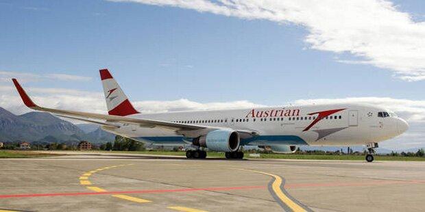 AUA-Maschine musste außerplanmäig in Istanbul landen