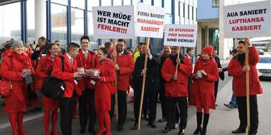 AUA-Gewerkschaft droht mit Streik