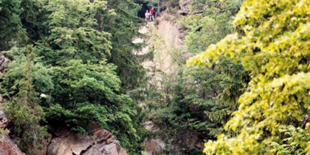 Bergretter stürzte bei einer Übung ab