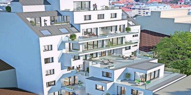 Top-Neubau in der Wagramer Straße 130