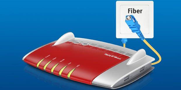 Neue FritzBox für Glasfaseranschluss