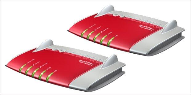 Neue FritzBox-Modelle von  AVM gewinnen
