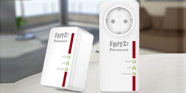 Fritz-Powerline Adapter von AVM gewinnen