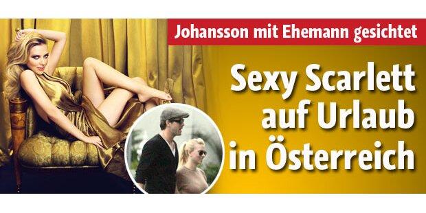 Scarlett Johansson auf Österreich Urlaub